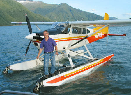 Doug and his float plane